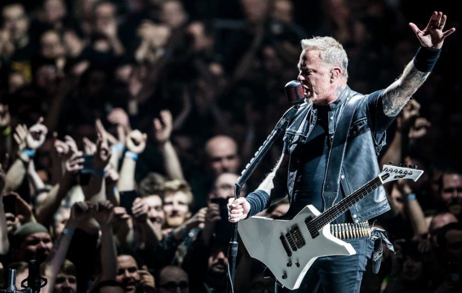 Metallica shape live shows by what fans are listening to on Spotify